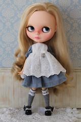 Story Book Alice (Abella Blythe aka Gardsabs007) Tags: love me alice blythe custom tbl simply wonderland scalp abella heydollyboo