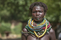 Mujer de la tribu de los Nyangaton cerca de Kangate (Sur de Etiopa), 2010. (Luis Miguel Surez del Ro) Tags: tribu etiopa kangate nyangaton