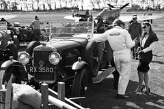 Goodwood Revival 2012 (Shot Yield Photography) Tags: auto uk greatbritain party england people bw white black english classic cars cup sports monochrome car fashion festival race speed vintage photography photo glamour track foto shot image action antique unique glory picture style meeting competition racing legendary historic retro event nostalgic driver trophy british motor autos yield races circuit goodwood drivers collectable glamorous revival 2016 goodwoodrevival vintagephotography goodwoodrevival2012 shotyieldphotography
