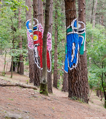 Motoristas (cvielba) Tags: bosque oma vizcaya cantabrico pintado