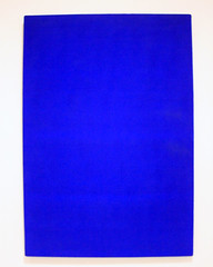IKB74, by Yves Klein (JB by the Sea) Tags: sanfrancisco california painting sfmoma financialdistrict yvesklein sanfranciscomuseumofmodernart june2016