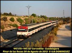 idn2669 (ribot85) Tags: 447127 447175 447 tren trenes trains train cercanias cercaniasmadrid pinarrozas caf renfe renfeviajeros renfecercanias madrid crtm