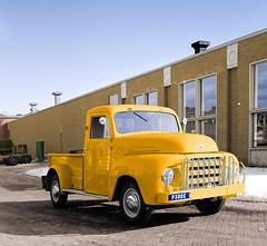 1955 DAF A10 / P300 E  Pick-Up (Vriendelijkheid kost geen geld) Tags: daf pickup p300 a10 1955 eindhoven