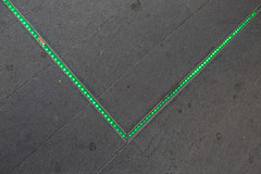 LED there (Michael Goldrei (microsketch)) Tags: photo envelope hospital led moorfields iii street shoreditch line july 2016 painted painting light lights photos 3 eye photographer london st dark 5d old 16 green mark photography canon leds