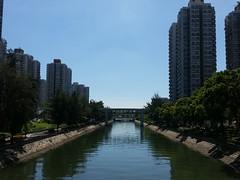 (vincent.fung) Tags: river hongkong sunshine beautiful sky blue shine