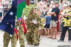 Cadets 3 - Jacaranda Parade 2015 (sbyrnedotcom) Tags: 2015 people events grafton jacaranda parade rural town army cadet gillysuit camouflage male nsw australia
