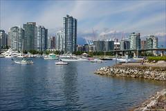 Changing Views (Clayton Perry Photoworks) Tags: summer canada skyline vancouver boat bc falsecreek explorebc explorecanada dailyhivevan