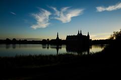 Frederiksborg Castle (Jan Jespersen) Tags: 28mm castle denmark frederiksborgslot gr hillerd ricoh ricohgr janjespersenphotography lake landscape sunset urban