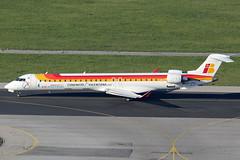 Air Nostrum / Iberia Regional Bombardier CRJ-900 EC-JTU (c/n 15079) (Manfred Saitz) Tags: vienna wien airport air flughafen regional 900 vie iberia bombardier canadair nostrum schwechat crj900 loww ecjtu cr9 crj9 ecreg