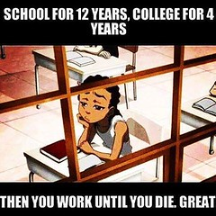 School For 12 Years (ipressthis) Tags: school sun moon college plane work truth die flat god earth space 4 yang dome reality bible years 12 curve yinyang yin universe hoax curvature flatearth nocurve