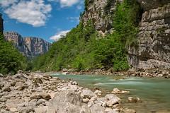 Gorge du Verdon; Sentier Blanc Martel (hardi_630) Tags: gorge gorgeduverdon sentierblancmartel frankreich france sommer wandern hiking summer langzeitbelichtung nd1000