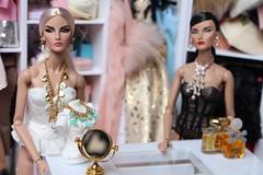 The Elises (Isabelle from Paris) Tags: fashion royalty intrigue elise jadore la fête isabelleparisjewels
