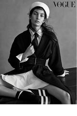 Lily Aldridge 4 (drno_manchuria (simonsaw)) Tags: lilyaldridge model modelo moda fashion editorial shirt camisa tie necktie corbata krawatte gravata kravata cravat abrigo knot nudo menswear tomboy white blanca blanco negro black negra encorbatada collar cuello top suited