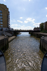 The Cut to the Thames August 2016 (11 of 42) (johnlinford) Tags: canon canonefs1022 canoneos7d docklands limehouse lock lockgates london river riverthames thames uk urban water landscape