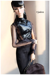 Dark Lilith (Jonlexx) Tags: black never girl fashion dark toys doll pretty dolls twin eden giftset royalty lilith ordinary integrity nuface jonlexx