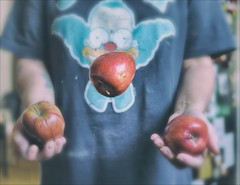 Our Daily Challenge Faux Olympics: Apple Juggling (Sue90ca Soon Back To School...Back To Work) Tags: canon 6d odc olympics edit slidersunday hss secondchancechallenge