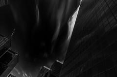 Bruxelles (Karl-Heinz Bitter) Tags: city windows winter sky blackandwhite monochrome architecture clouds blackwhite europa europe fenster main himmel wolken architektur monochrom schwarzweiss brssel schwarz 2012 hochhaus hochhuser khbitter karlheinzbitter