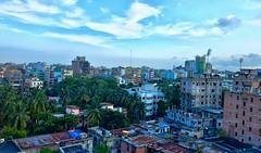 ব্যাস্ত শহরে, ঠাস বুনোটের ভীড়ে... আজো কিছু মানুষ, স্বপ্ন খুজে ফেরে... (ivan_2k5) Tags: sky citylife dhaka mirpur