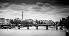 "Paris from the ""Pont Neuf"" (Delfried) Tags: paris pont neuf eiffel tower"