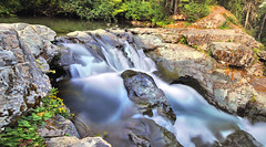 You Belong Among the Wildflowers (Buddha's Ghost) Tags: landscape waterfall wilderness forest mountains water longexposure wildflowers rocks trees buddhasghost canonef1635mmf4lisusmlens canonef1635mmlens canon1635mmlens canonef1635mm wideangle canonwideangle 16mm ndfilter creek 291 explore