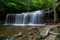 Backyard Beauty (Thankful!) Tags: longexposure summer waterfall falls niagaraescarpment