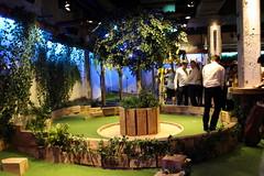 The dastardly ninth hole (Bex.Walton) Tags: london swingers crazygolf thecity minigolf ninthhole