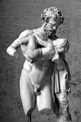 Silenus and Dionysus (just.Luc) Tags: silenus dionysus statue escultura sculpture man nude naked uomo nudo hombre desnudo naakt nackt homme nu boy garon jongen mythologie mythology munich glyptothek mnchen bavaria bavire bayern beieren deutschland duitsland germany allemagne