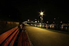 Frankfurt am Main, Germany (John Le.) Tags: frankfurt germany main eiserner steg summer night exposure skyline