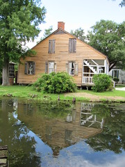 IMG_6059 (halffullpl) Tags: acadianvillage louisiana buildings structure history architecture old historic village acadian pattylebedhessphotos water reflection
