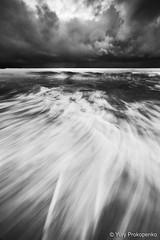 Storm (renatonovi1) Tags: storm sea ocean clouds sky seascape landscape beach coogee sydney australia bw blackandwhite