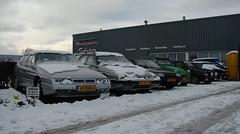 CiFo Nieuwjaarsmeeting 2016 - Sappemeer (Skylark92) Tags: citroen snow winter event xm break 2cv bx visa gti