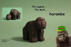 LEGO Custom | Harambe (The FUDGY) Tags: harambe lego custom dank memes cancer flickr swag rare