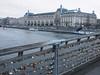 Love padlocks on Passerelle Léopold-Sédar-Senghor (formerly Passerelle Solférino) (procrast8) Tags: paris france passerelle leopold sedar senghor solferino musee dorsay museum bridge pont river seine