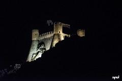 20160901 - Rocca Calascio - Stelle (MST) 106 (DAVIDE SPAGNA SPD) Tags: nikon d750 rocca calascio abruzzo italia stelle notte luce chiesa castello gransasso vista panorama volta celeste