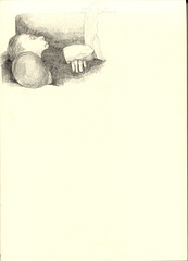 A4 90g 014 schlafender (JENS01) Tags: zeichnung drawing malen graphite malerei pencildrawing bleistift sketches berlin friedrichshain art kunst skizze painting dessin