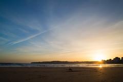 En tus Sueos (In Your Dreams) (Dibus y Deabus) Tags: gijon asturias espaa spain cielo sky nubes clouds amanecer dawn playadesanlorenzo playa beach canon 6d tamron paisaje landscape