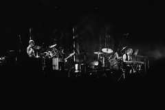 Radiohead (chaur) Tags: radiohead concertphotography musicphotography summersonic 2016 blackwhite
