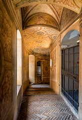 inner solar passage (littletinperson) Tags: color stone golden palazzoducale mantova italia lombardia innersolarpassage littletinperson patterns brick