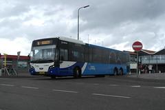 Arriva 8691 (VDL Citea) ([Publicer Transport] Ricardo Diepgrond) Tags: vdl citea 15m meter 3 asser 15meter 8691 holwert veerhaven terminal arriva fryslan friesland