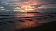 Sunset Ao Nang beach (lars Jrgensen76) Tags: sun sunset solnedgang lavvandet lowtide aonang beach beaches beachfotos beauty travelthailand amazingthailand thailand krabi southeastasia asia