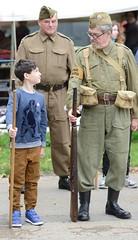 DSC_8852 (njw28) Tags: wimpole boy 1940s wimpoleatwar rifle uniform home guard homeguard dadsarmy