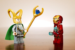 Iron Man & Loki (Macr1) Tags: 61403327236 afnikkor50mmf18d australia camera d700 default indoor ironman kenkoautoextensiontubesetdg lego lens location macro markmcintosh marvel nikon nikond700 sb900 strobist wa westernaustralia macr237gmailcom markmcintosh
