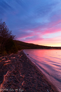 Sunsrise on Naknek Lake