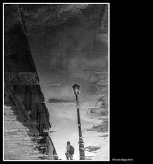 non tutto  come sembra (magicoda) Tags: italia italy magicoda foto fotografia venezia venice veneto biancoenero blackandwhite bw bn persone people blackwhitephotos maggidavide davidemaggi voyeur white curioso see vedere candid upskirt streetphotografy street turiste turista tourist turisti turists donna woman vpl seethru thong panty panties nero black shadow water sea controluce backlight sole sun ombra ombre patterns 2016 mano hand fuji fujifilm x100 x100t man uomo nowife nobarefoot lampione lamp giudecca