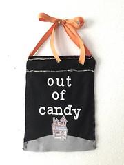 Halloween: Trick or Treat Door Sign pt. 2 (WorldofCreativity) Tags: lawnfawn booyah doorsign halloween decor diy felt louiesabc ghost haunted house