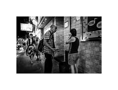 Four people, four stories . Hong Kong (Laurent Camus) Tags: hongkong blackandwhite noiretblanc series streetphotography hongkong2016voyageasieblackandwhitebw