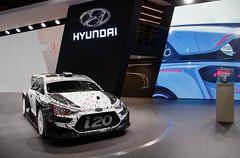Hyundai i20 WRC prototype (Joseph Trojani) Tags: hyundai i20 hyundaii20 wrc rallye voiturederallye rallyecar motorsport voituredecourse car salondelautomobile paris parismotorshow motor motorshow nikon d7000