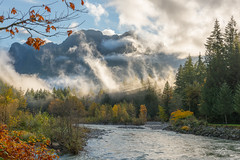 middle-earth (Howard Ryder) Tags: washingtonstate snohomishcounty index indexgalenard skykomishriver fallcolors fall turningcolor fallingleaves clouds cloudporn nikon d810 ryderphotographic howardryder tamron tamronsp240700mmf28divcusd upperleftusa saturday saturdaymorning
