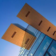 floating (ohank1951) Tags: lines reflections glass geometry geometrie facade abstract kranhaus architecture btr bothe richter teherani rheinauhafen keulen kln cologne canoneos1100d efs1022mmf3545usm