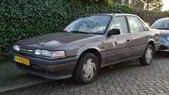 Mazda 626 Sedan 2.0i 16V GT 4WS (sjoerd.wijsman) Tags: auto holland cars netherlands car sedan grey gray nederland thenetherlands voiture vehicle holanda autos gt mazda saloon paysbas berline voorburg olanda fahrzeug mazda626 niederlande grijs zuidholland 626 onk carspotting berlina 4ws carspot stufenheck sidecode4 02012015 mazda626gt4ws mazda626gt 626gt4ws gt4ws xv53dz